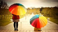Two women with colorful umbrellas in . Two women with colorful umbrellas in . Two women with colorful umbrellas in . Two women with colorful umbrellas in . Kids Umbrellas, Colorful Umbrellas, Big Umbrella, Latest Wallpapers, April Showers, Kids Events, Hd Wallpaper, Photo Wallpaper, Nature