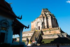 Ruins at Wat Chedi Luang, Chiang Mai