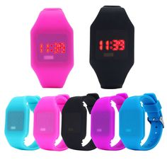 Perfect Gift Mens Womens Silicone LED Watch Sports Bracelet Digital Wrist WatchBlue Levert Dropship Mar01 //Price: $9.95 & FREE Shipping //     #hashtag1