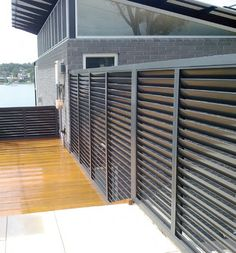 Vollay Aluminium Shutters and Louvres - V1000 Fixed Privacy Screen Documents - Louvre Solutions For All Seasons - Made in Australia