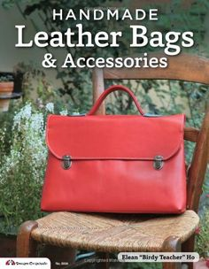 This simple leather bag is the perfect beginner project for learning to work with leather. Working with leather is easier than you think, and for this proj