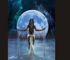 Every woman has her seasons, and the Triple Goddess is representative of this. Let's find out more about the Maiden, the Mother, and the Crone and how we can connect with the Triple Goddess in all three forms. Isis Goddess, Goddess Art, Egyptian Goddess, Moon Goddess, Triple Goddess, Aphrodite Goddess, African Goddess, Goddess Of Nature, The Goddess