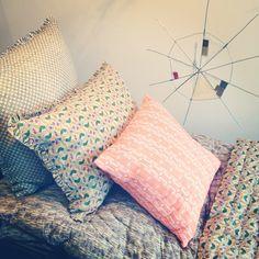 Beautiful textiles from Erika Tanov | @designconundrum