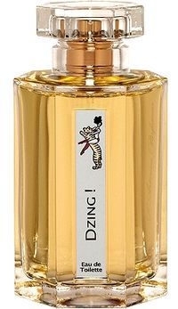 Dzing! by L`Artisan Parfumeur is a sweet, warm, spicy, leathery, musky Woody fragrance. Inspired by the circus, this fragrance features leather, ginger, tonka bean, musk, white woods, caramel, saffron, toffee, candy apple and cotton candy. - Fragrantica