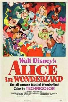 Alice In Wonderland 1951 by Movie Poster Prints