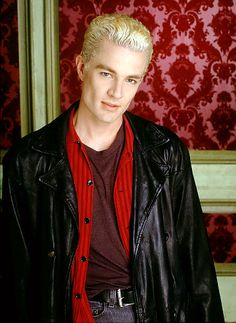 James Marsters as Spike (Buffy the Vampire slayer) can't make a sexy vampire board without including Spike! :D