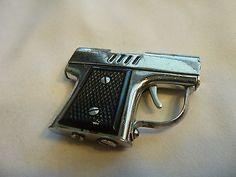 Occupied Japan Continental Gun Shaped Lighter vintage #lighter #occupiedjapan #gunlighter #vintagelighter