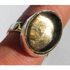 46.36ct.STEAMING!!! Natural Smokey Quartz Silver Ring ~NR!! for R1.00