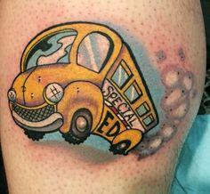 tattoo bus new school - Buscar con Google