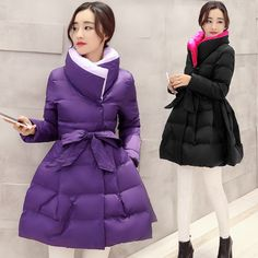 59.85$ Watch here - http://aliw93.shopchina.info/1/go.php?t=32741580300 - 2016 New Long Cloak Coat Female Korean Slim Thicke Warm Cotton Padded Jacket Patchwork Covered Button Down Winter Coat Women #buychinaproducts