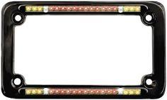 PlasmaGlow 10129 Ultraviolet Neon License Plate Frame