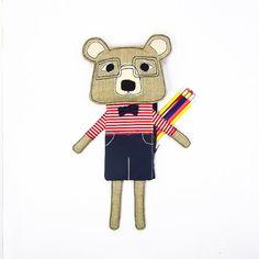 Mister Bear pencil case