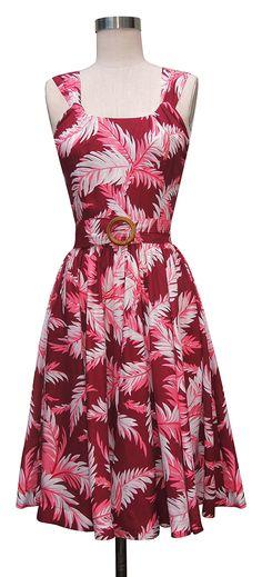 Trashy Diva Aloha Dress | 1950s Inspired Dress | Tropical Sangria