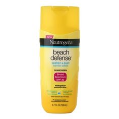 I'm learning all about Neutrogena Beach Defense SPF 30 Lotion at @Influenster!