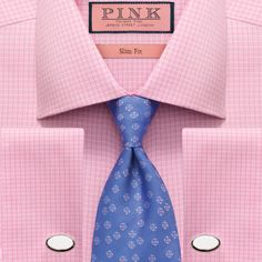 Thomas Pink Daniel's Look Thomas Pink Shirts, Shirt And Tie Combinations, Mens Tailor, Tied Shirt, Elegant Man, Mens Suits, Cool Shirts, American Apparel, Fashion Brands