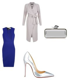 """Untitled #28"" by jazmineamill on Polyvore featuring New Look, Victoria Beckham, Christian Louboutin and Jimmy Choo"