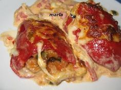 Bruschetta, Deli, Baked Potato, Risotto, Salad Recipes, Food And Drink, Favorite Recipes, Stuffed Peppers, Snacks
