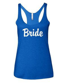 Bride tank top. Perfect gift for the bride! Check out this cool Etsy listing!
