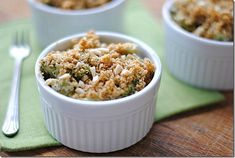 broccoli cheese casseroles - eat yourself skinny