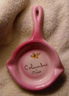 Pottery Spoon Rest Crimson Red Wheel Thrown Heart Shaped Spoon Rest