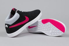 "Nike SB Koston Mid ""Black & Fuchsia Force"" - EU Kicks: Sneaker Magazine"