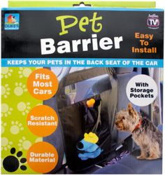 Auto Pet Barrier with Storage Pockets Case Pack 4