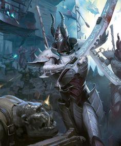 Warhammer 40000,warhammer40000, warhammer40k, warhammer 40k, ваха, сорокотысячник,фэндомы,Dark Eldar,Incubi,Kabalite Warrior,Raider
