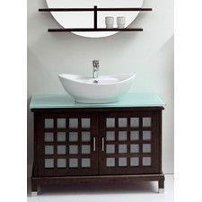 """Madrid 39.4"""" Single Bathroom Vanity Set"""