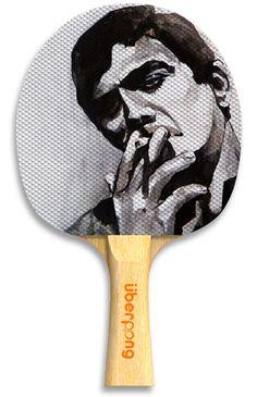 """Smoke"" ping pong paddle by Uberpong - $29.99"
