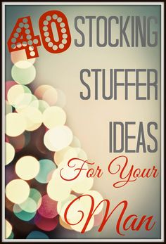 Steeleing Moments: 40 Stocking Stuffer Ideas for Men