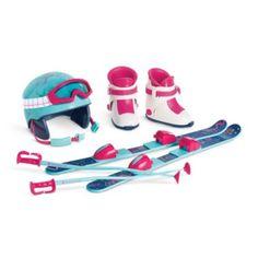 Skis & Helmet Set | accessmyag | American Girl