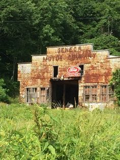 Abandoned gas station, Seneca, WV