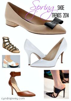 Spring Shoes Trends 2014