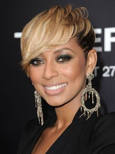 Incredible Keri Hilson Cute Short Hairstyles And Short Hair Cuts On Pinterest Hairstyle Inspiration Daily Dogsangcom