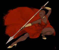 Okoye in Black Panther, April Cheon Black Characters, Marvel Characters, Marvel Movies, Fictional Characters, Black Panther Art, Black Panther Marvel, Marvel Fan Art, Marvel Dc Comics, Black Women Art