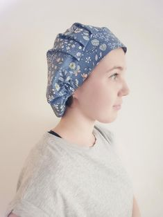 Bouffant scrub hat pattern PDF, nurse head cover sewing instruction with photos, tutorial scrub cap Scrub Hat Patterns, Hat Patterns To Sew, Sewing Patterns Free, Sewing Tutorials, Sewing Ideas, Free Sewing, Sewing Projects, The Band, Just Love