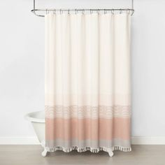 Ombre Shower Curtain Copper - Hearth & Hand™ With Magnolia : Target Ombre Shower Curtain, Cute Shower Curtains, Shower Curtain Rods, Baths Interior, Curtain Accessories, Shower Accessories, Shower Liner, Herd, My New Room