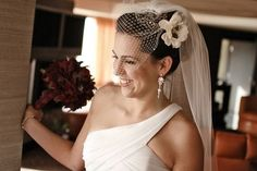 I love the look of a birdcage with a long floaty veil.  I love the look together  Read more: http://boards.weddingbee.com/topic/hmmm-to-birdcage-or-not#ixzz2c3B4goHQ