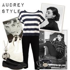 Classic style that is fun and romantic at the same time.  I just wish I could wear my hair like Audrey.