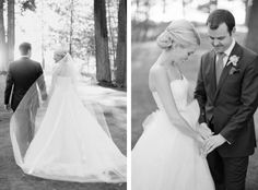 Romantic lakefront Lake Tahoe wedding from Summit Soiree and Elisabeth Millay photography