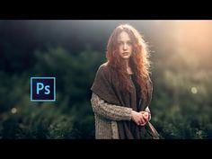 Photoshop cc Tutorial : Outdoor Portrait Edit (Girl-3) ❤ - YouTube