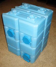 Water bricks -- modular water storage system.