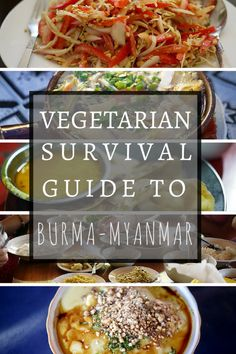 BURMA: How to find safe and clean vegetarian foods in Burma/Myanmar. Though they use a lot of fish sauce, there are many inherently veggie dishes in the national dishes that are spectacular! http://alittleadrift.com/2012/05/vegetarian-travel-burma-myanmar/