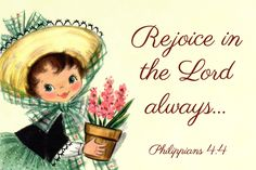 free spiritual messages | Free Printable Christian Message Cards – Rejoice in the Lord always