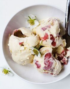 Blueberry-Hyssop Ice Cream  Great with lemon zest on top