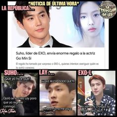 Read 120 from the story 🌈 Memes EXO🌈 by (🌹) with reads. Memes Historia, Memes Exo, Exo 12, Drama Memes, K Pop, Kpop Exo, Music Memes, Bts And Exo, Chanbaek