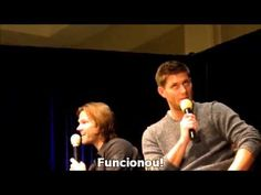 Jensen scolding little baby Thomas is somehow the cutest/funniest thing ever!