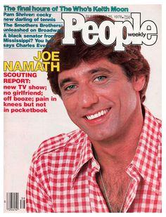People magazine, Sept. 25, 1978 — Joe Namath