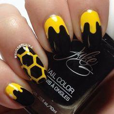 Bee hive nails