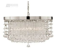South Shore Decorating: Uttermost 21138 Fascination Contemporary 3-Light Chandelier UM-21138